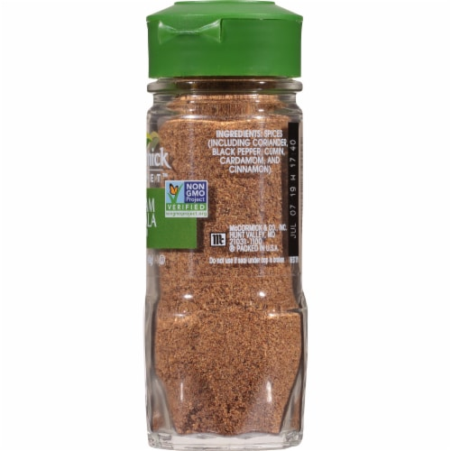 McCormick Gourmet Garam Masala Blend Perspective: right