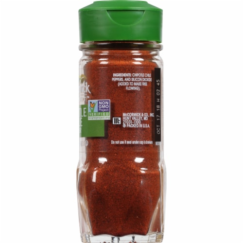 McCormick Gourmet™ Chipotle Chile Pepper Spice Shaker Perspective: right