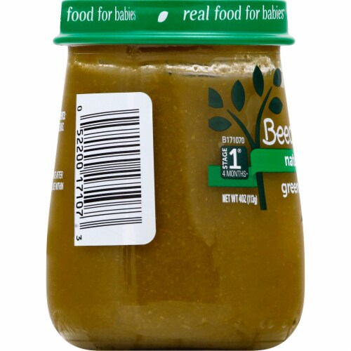 Beech-Nut Naturals Green Beans Stage 1 Baby Food Perspective: right