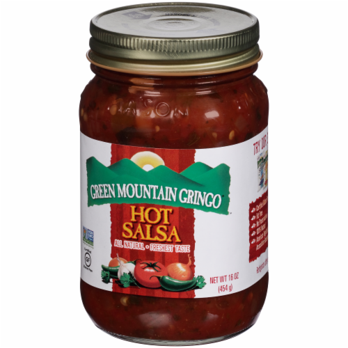 Green Mountain Gringo Hot Salsa Perspective: right