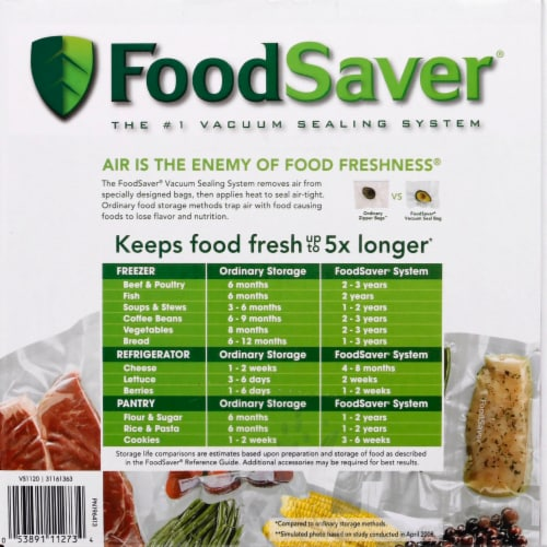 FoodSaver® Space Saving Food Vacuum Sealer - Black Perspective: right