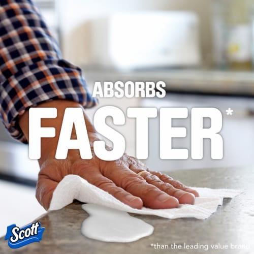 Scott Mega Roll Paper Towels Perspective: right