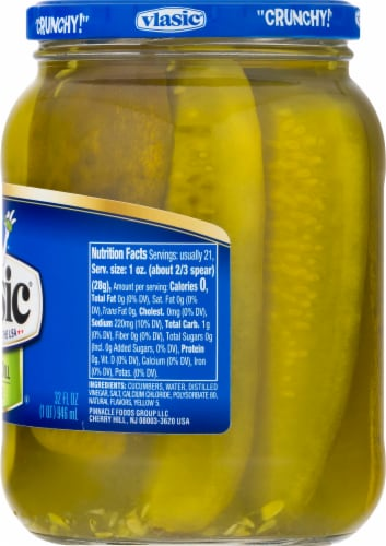 Vlasic® Kosher Dill Spears Perspective: right