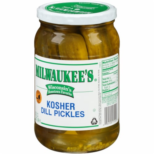 Milwaukee's Whole Kosher Dill Pickles Perspective: right