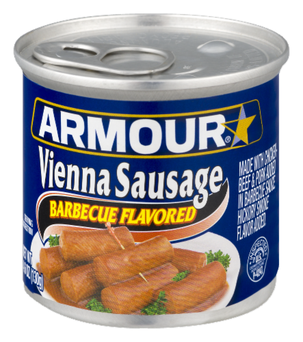 Armour Barbecue Flavored Vienna Sausage Perspective: right