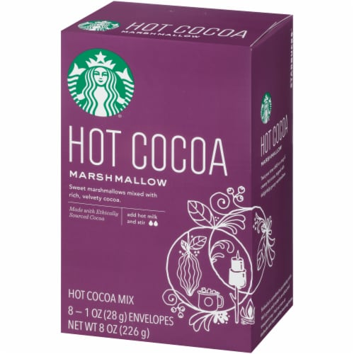 Starbucks® Marshmallow Hot Cocoa Mix Perspective: right