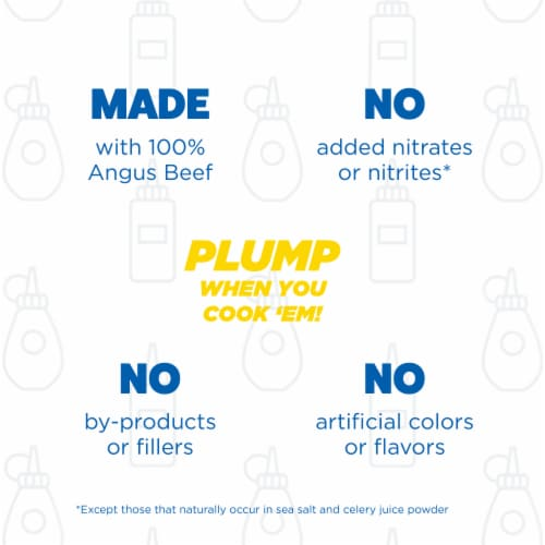 Ball Park Angus Beef Hot Dogs Original Length Perspective: right