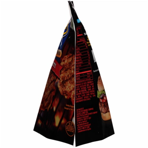 Ball Park® Flame Grilled Fully Cooked Beef Patties Perspective: right