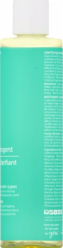 Earth Science Clarifying Herbal Astringent Perspective: right