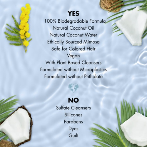 Love Beauty & Planet Volume and Bounty Coconut Water & Mimosa Flower Conditioner Perspective: right