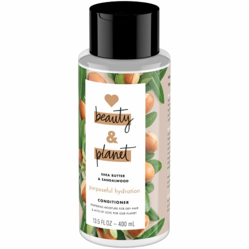 Love Beauty & Planet Shea Butter & Sandalwood Hydrating Conditioner Perspective: right