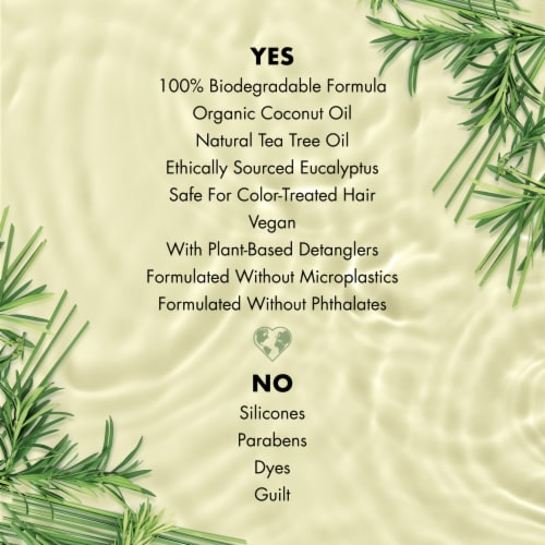Love Beauty and Planet Radical Refresher Tea Tree Oil & Vetiver Conditioner Perspective: right