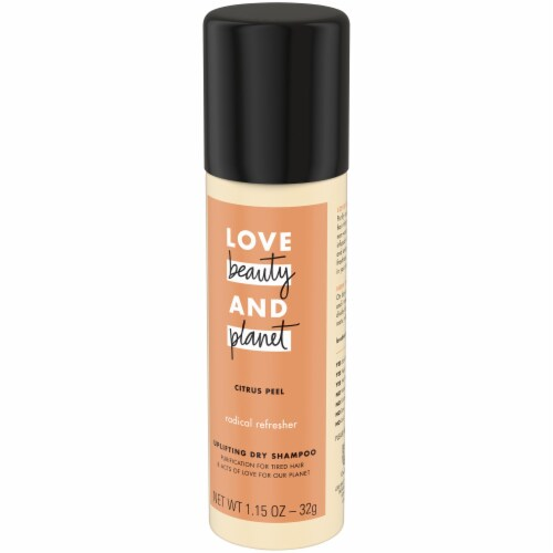 Love Beauty and Planet Citrus Peel Uplifting Dry Shampoo Perspective: right
