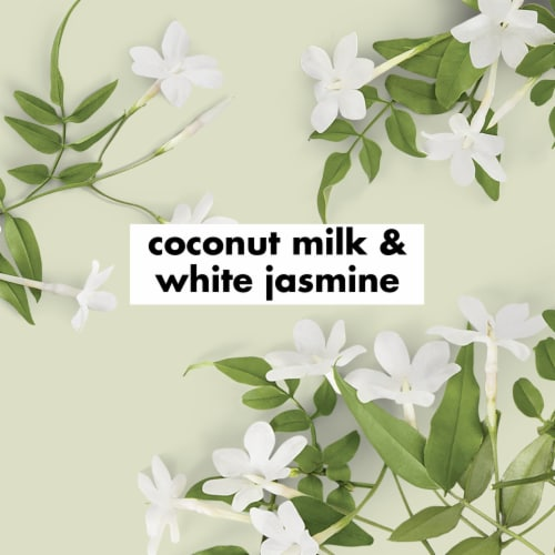 Love Beauty and Planet Sulfate-Free Coconut Milk & White Jasmine Shampoo for Curly Hair Perspective: right