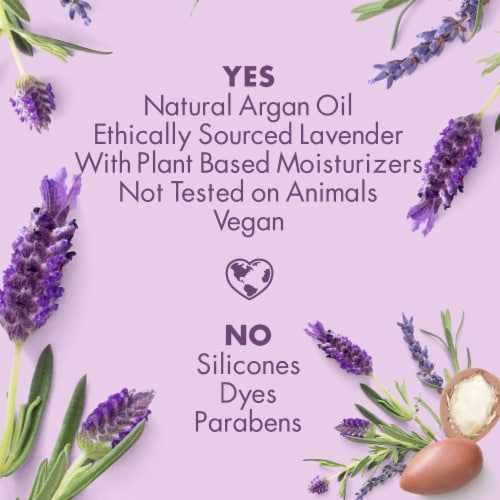 Love Beauty and Planet Smoothe & Serene Argan Oil & Lavender Hand Lotion Perspective: right