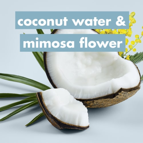 Love Beauty & Planet Silicone-Free Coconut Water & Mimosa Flower Conditioner Perspective: right