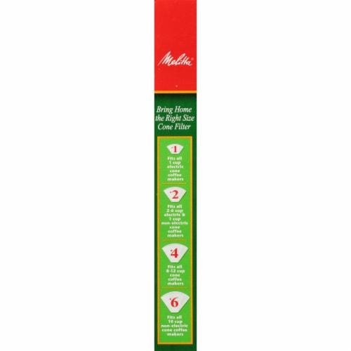 Melitta #4 Cone Coffee Filters - White Perspective: right