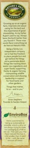 Nature's Path Organic Flax Plus Raisin Bran Cereal Perspective: right