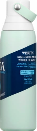 Brita Premium Filtering Water Bottle - Glacier Perspective: right