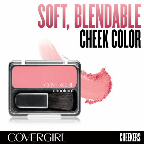 CoverGirl Cheekers Rose Silk Blush Perspective: right