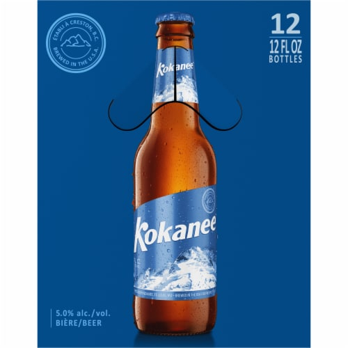 Kokanee Imported Beer Perspective: right