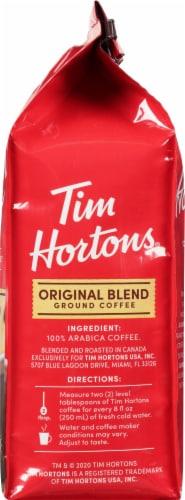 Tim Horton's Medium Roast Original Blend Ground Coffee Perspective: right