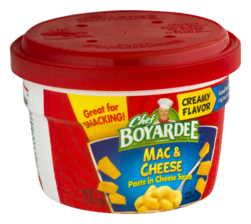 Chef Boyardee Mac & Cheese Microwavable Cup Perspective: right