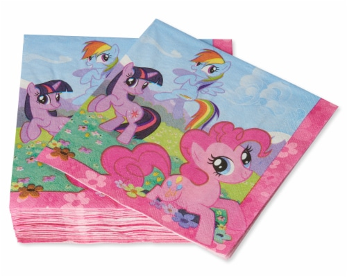American Greetings My Little Pony Paper Lunch Napkins Perspective: right