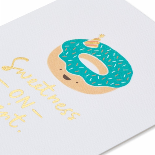 American Greetings (S11) Donut - Birthday Card Perspective: right
