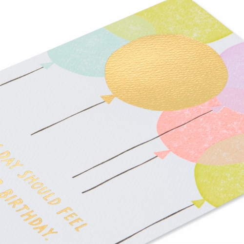 American Greetings (S14) Balloons - Birthday Card Perspective: right
