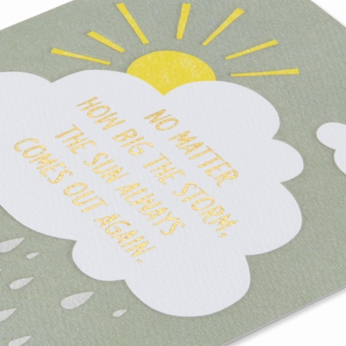 American Greetings (S25) Sunshine - You've Got This Card Perspective: right