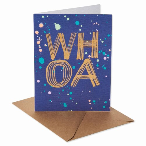 American Greetings (S24) WHOA - Hi Friend Card Perspective: right