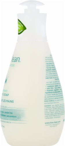Live Clean Fresh Water Liquid Hand Soap Perspective: right