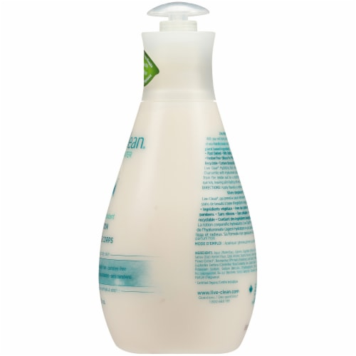 Live Clean Fresh Water Hydrating Body Lotion Perspective: right
