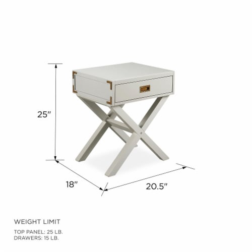 Baby Relax Miles Nightstand, Graphite Gray Wood Perspective: right