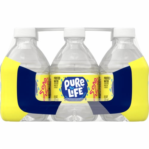 Nestle Pure Life Purified Water Perspective: right