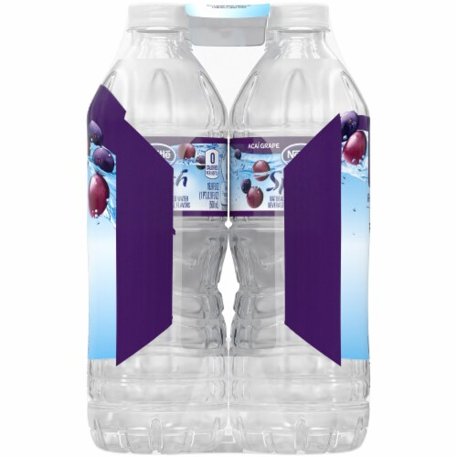 Nestle Splash Acai Grape Flavored Enhanced Water Perspective: right