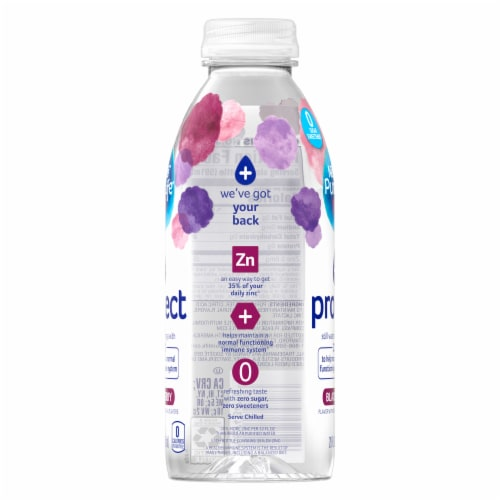 Nestle Pure Life Blackberry Protect Still Water Perspective: right