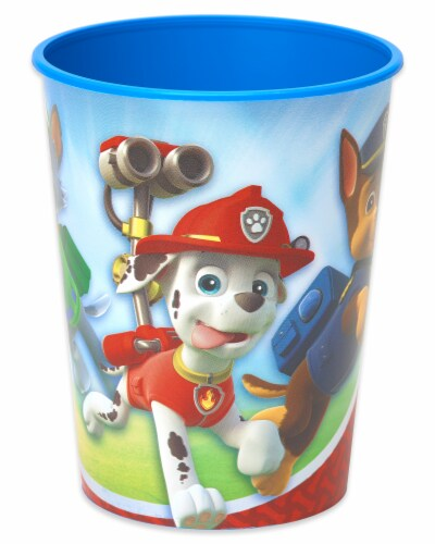 American Greetings Paw Patrol Reusable Plastic Party Cups Perspective: right