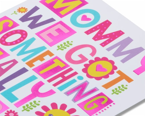 American Greetings Mother's Day Card from Kids (Something Special) Perspective: right
