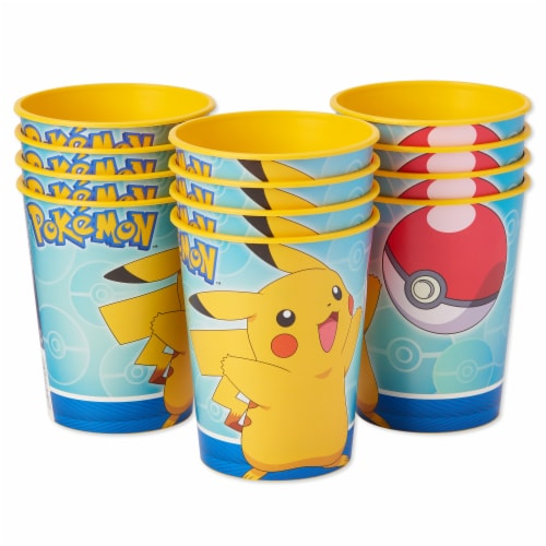 American Greetings Pokemon Reusable Plastic Party Cups Perspective: right