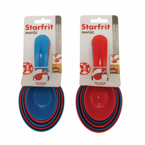 Starfrit 93115‐003‐0000 Snap Fit Measuring Cups Perspective: right