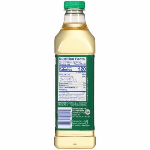 Hollywood Peanut Oil Perspective: right