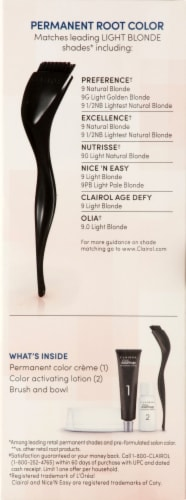 Clairol Permanent 9 Light Blonde Root Touch-Up Perspective: right