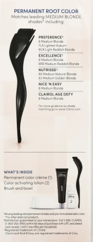 Clairol Permanent 8 Medium Blonde Root Touch-Up Perspective: right