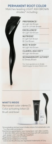 Clairol Permanent 6A Light Ash Brown Root Touch-Up Perspective: right