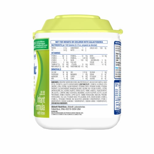 Similac for Spit Up Powder Infant Formula with Iron Perspective: right