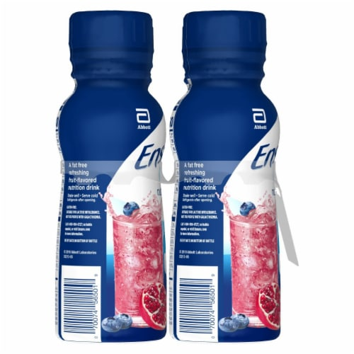 Ensure Clear Blueberry Pomegranate Ready-to-Drink Nutrition Drink Perspective: right