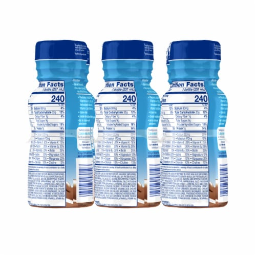 PediaSure Grow & Gain Chocolate Ready-to-Drink Kids' Nutritional Shakes Perspective: right