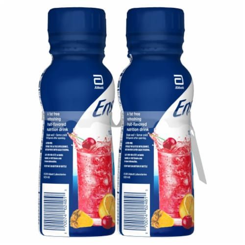 Ensure® Clear Mixed Fruit Ready-to-Drink Nutrition Shakes Perspective: right